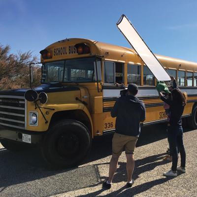 school-buzz - Image d'illustration du shooting de mode