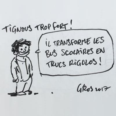 school-buzz - Image d'illustration de l'exposition hommage sur Tignous